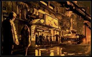 Illustration for article titled A First Look Inside Duncan Jones's Futuristic Berlin