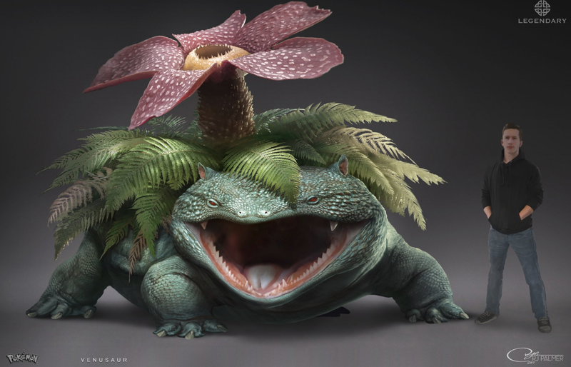 Illustration for article titled This Venusaur Was Too Scary For Detective Pikachu