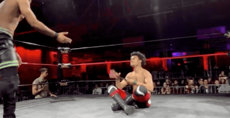 Wrestler's Special Move Is The Nintendo Switch