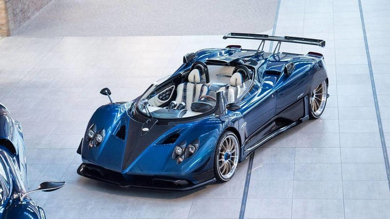 The $17.5 Million Pagani Zonda HP Barchetta Is the Most Expensive ...