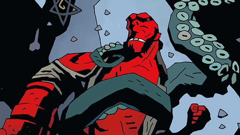 Why see a not-great Hellboy movie when you could read some excellent comics?