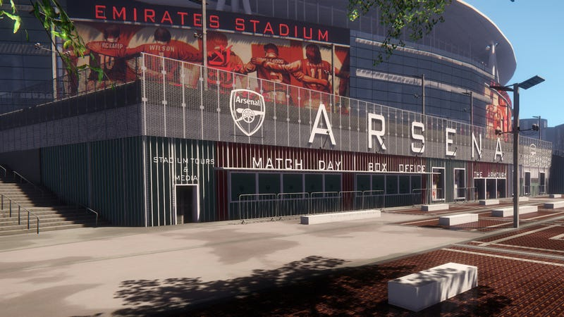 Illustration for article titled Real-Life Football Stadium Looks Glorious in CryEngine