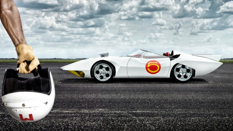 Illustration for article titled Driving The World's Only Official Street Legal Speed Racer Mach 5