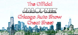 Illustration for article titled Jalopnik's Official 2008 Chicago Auto Show Cheat Sheet