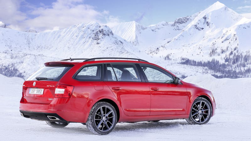This Is An All Wheel Drive Performance Wagon Skoda Style
