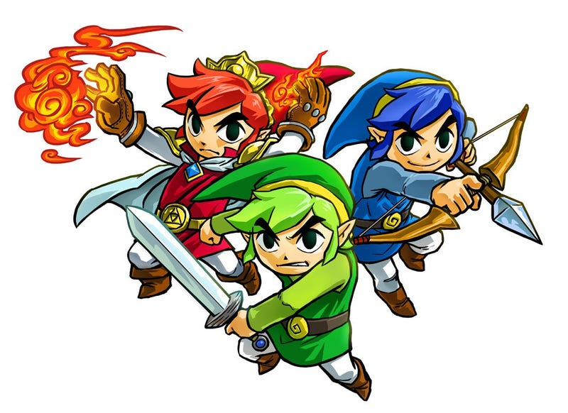 Illustration for article titled Impromptu Game Testing...Update! Tri Force Heroes!