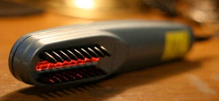 Illustration for article titled Hands On with the HairMax Laser Comb