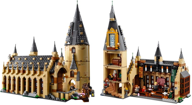 Illustration for article titled Lego's New Hogwarts Great Hall Set Is Going to Magically Drain My Wallet