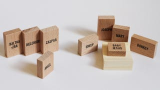 Illustration for article titled This Sleek Nativity Set Brings Good Design to the Christmas Story
