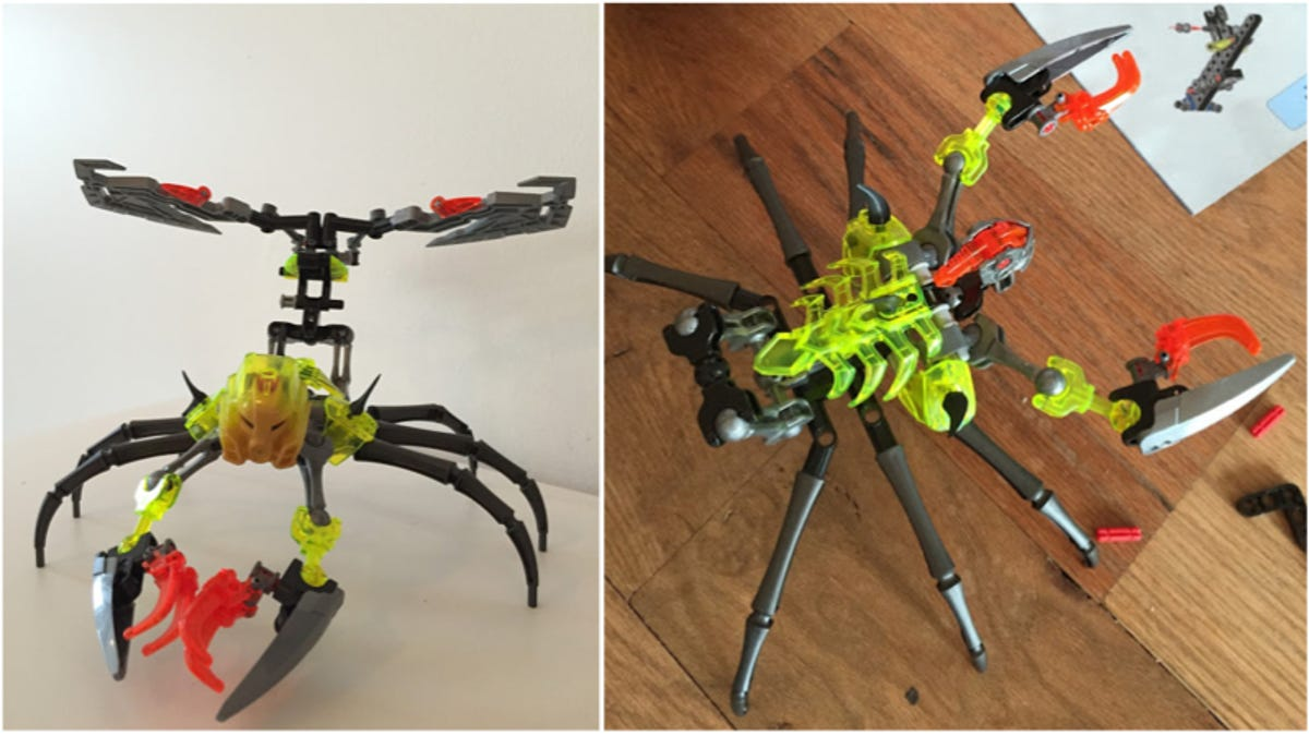 Review New Lego Bionicle Sets Are Here To Slice And Bash Skulls Skull Scorpio 70794