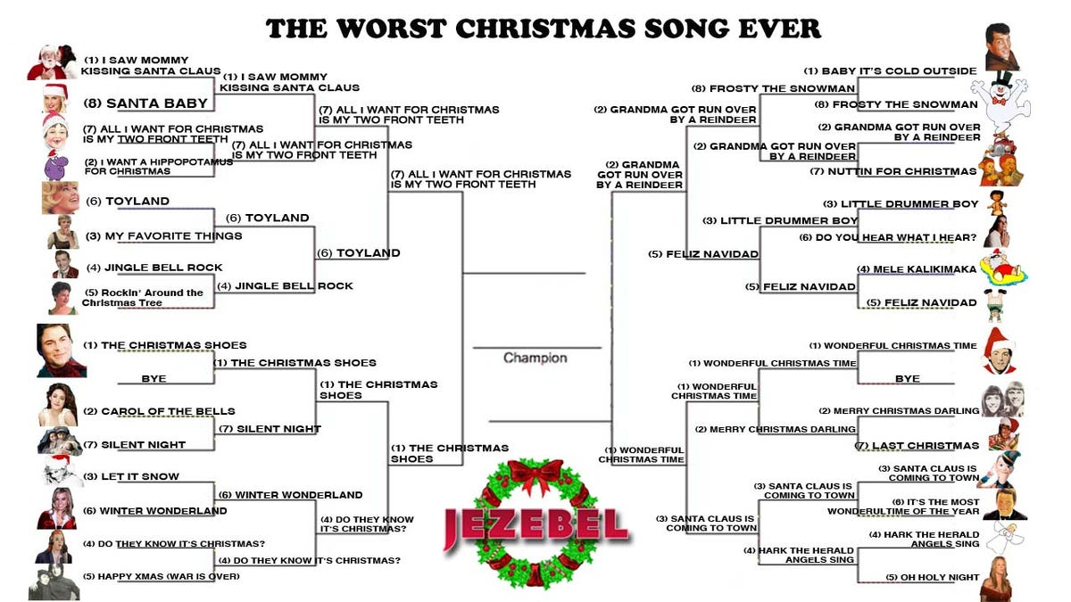 Worst Christmas Song Ever: The Semifinals of Seasonal Suck