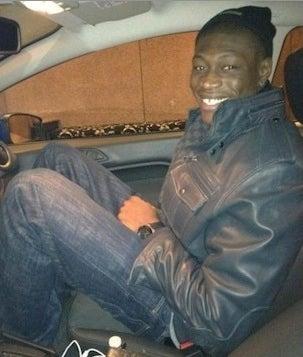 Illustration for article titled Wizards Big Man Hamady Ndiaye Stuffed Himself Into A Mini Car Last Night
