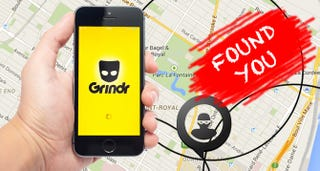 Illustration for article titled Tracking Guys Via Grindr Is Really Easy, AndGrindr Doesn't Seem To Care