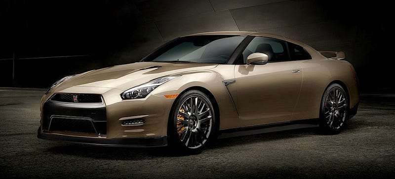 Illustration for article titled Only 30 Nissan GT-R 45th Anniversary Gold Editions Are Coming To America