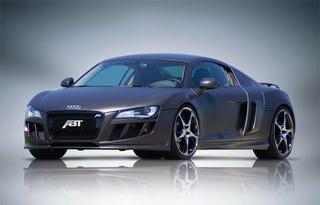 Illustration for article titled ABT Sportsline Shows Off Carbon Fiber Film Wrap For Audi R8, Q7