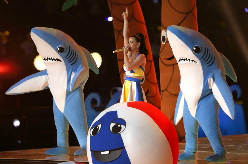 Illustration for article titled Hey, Quick Question: Would You Fuck Katy Perry's Dancing Sharks?