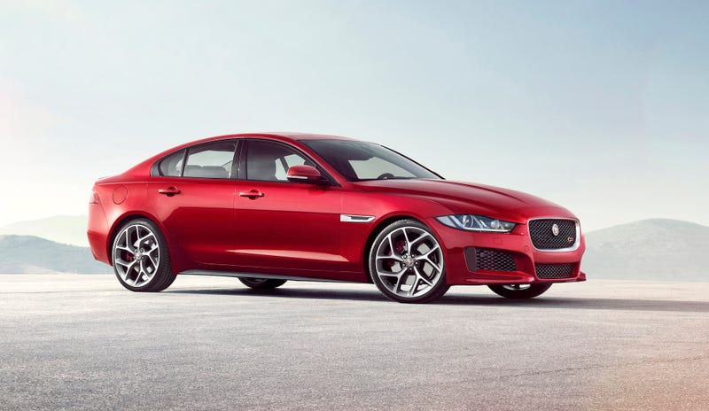 Illustration for article titled I hope Jag just says F*** it and puts the full fat 550HPV8 into the XE
