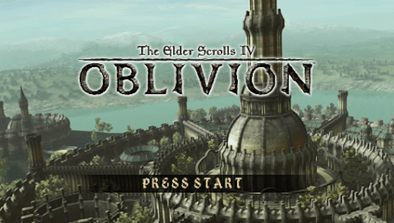 Illustration for article titled Leaked Footage Shows The Cancelled Elder Scrolls: OblivionGame For PSP [UPDATE: Lawyered]
