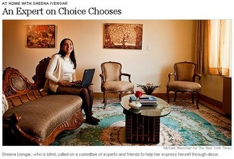 """Illustration for article titled She Chooses Her Choice: On Decorating Advice And """"Going With Your Gut"""""""