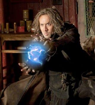 Illustration for article titled Nic Cage Versus Gandalf: Who'd Win? We Asked The Sorcerer's Apprentice