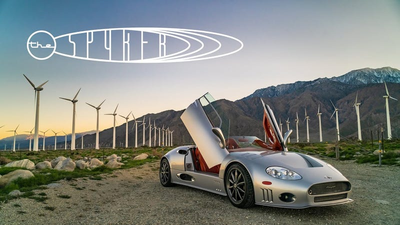 The Spyker C8 Spyder Remains a Triumph of Automotive Design