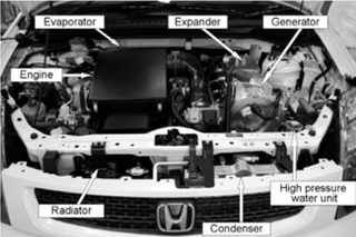 Illustration for article titled Honda Looks To Engine Heat For Hybrid Power