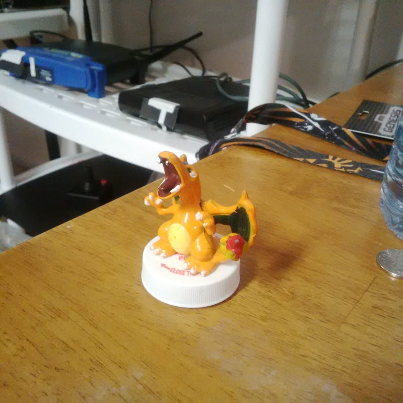 Illustration for article titled TAY Blip - Got My Charizard Amiibo Today