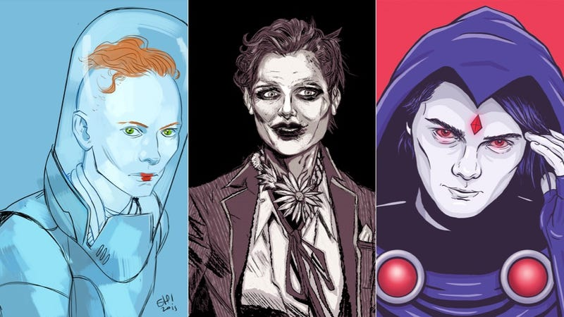 Artists Draw Celebrities As Gender-Swapped Versions Of DC