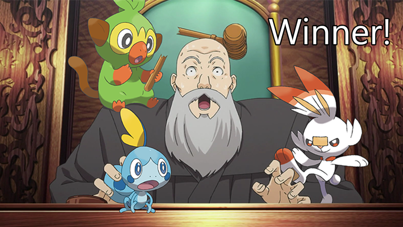 Illustration for article titled 'Shop Contest: Pokemon Starters Escape, Winners!