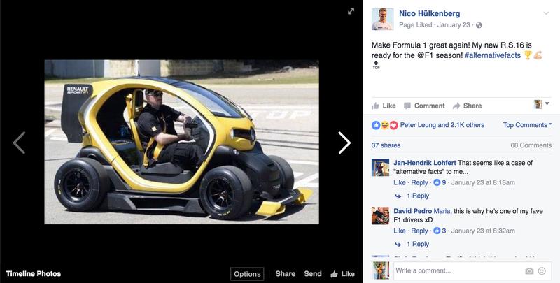 Screencap via Facebook