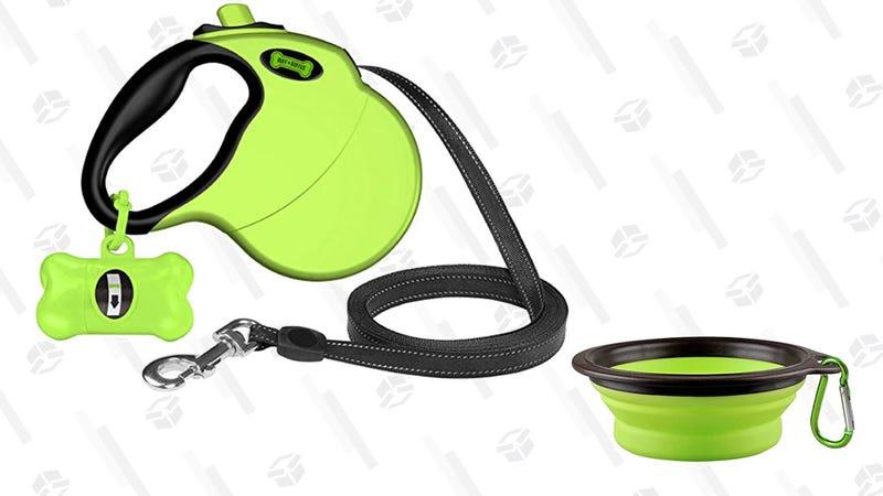 Ruff 'n Ruffus Retractable Dog Leash | $20 | Amazon