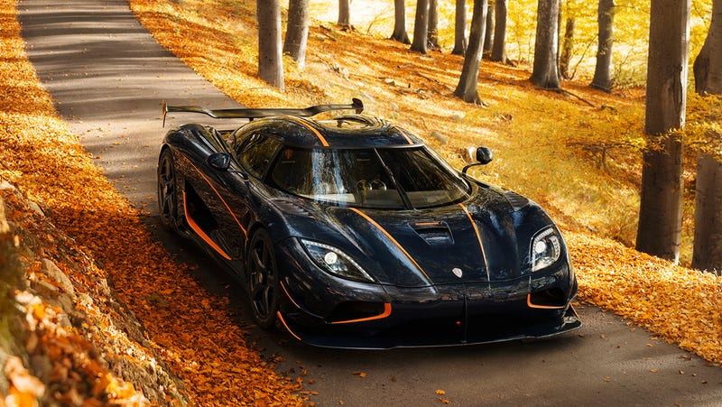 This is the Agera RS, NOT the new supercar.