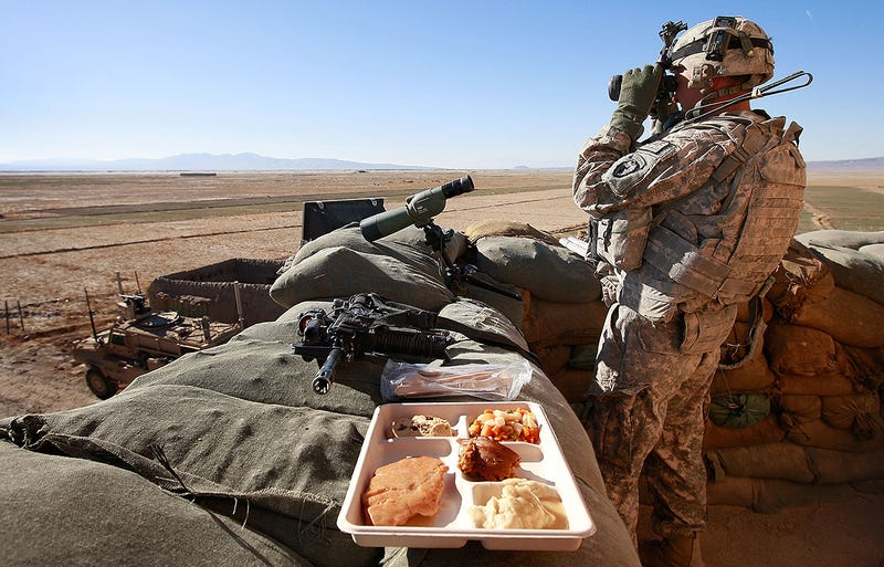 Illustration for article titled What It Takes To Provide Thanksgiving Dinner For The U.S. Military: By The Numbers