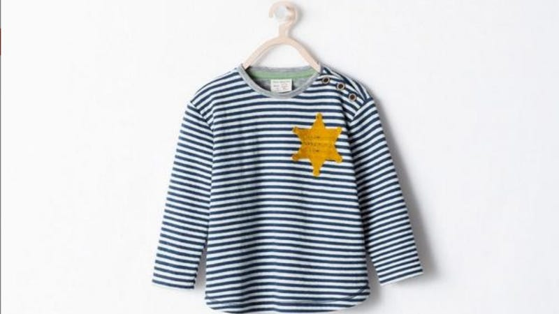 Illustration for article titled Zara So Sorry Kids' Shirt Looked Like a Concentration Camp Uniform