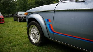 Tedfest: Classic BMWs and, Uh, Rain.