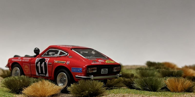 Illustration for article titled Rally Datsun