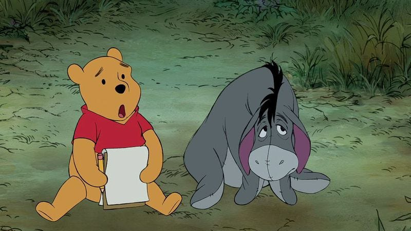 Illustration for article titled Polish town bans Winnie The Pooh for being half-naked hermaphrodite