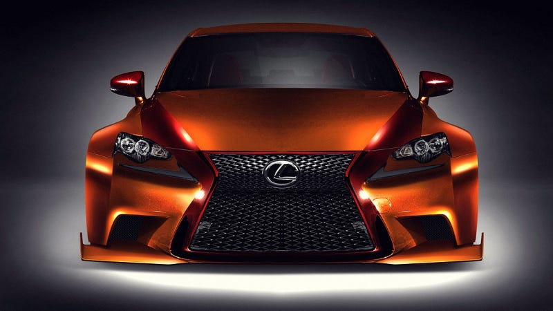 Illustration for article titled Lexus' Menacing Tuner Concepts Will Haunt Your Dreams