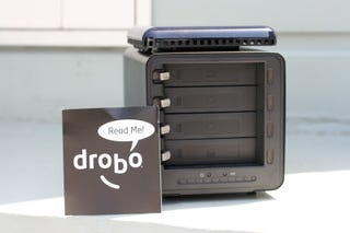 Illustration for article titled Drobo Storage Robot Review (Verdict: Great Concept, But Wait For V2.0)