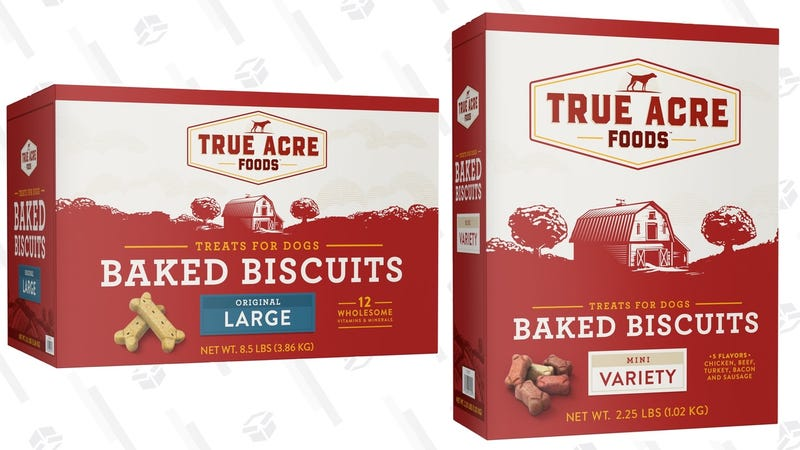 BOGO True Acre Dog Biscuits | Chewy