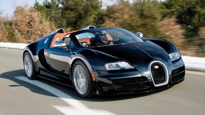 Illustration for article titled Bugatti Veyron Grand Sport Vitesse: The World's Fastest Convertible
