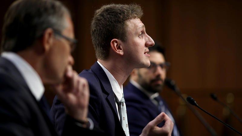 Aleksandr Kogan at a Senate hearing on June 19th, 2018.