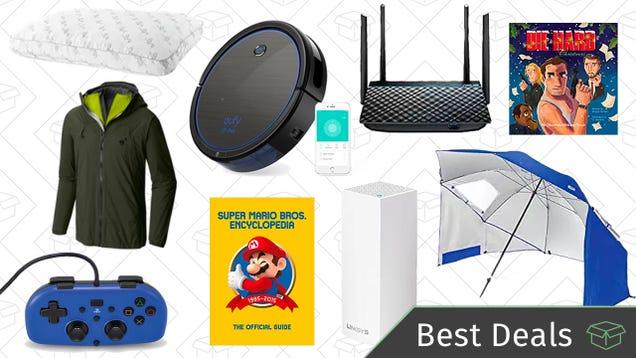 Thursday s Best Deals: Networking and Storage Sale, Robotic Vacuum, Reader-Favorite Pillow