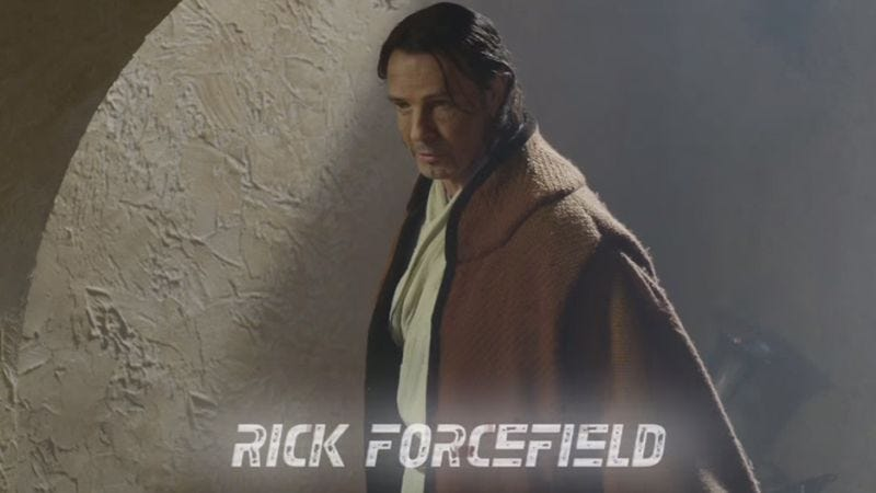 Illustration for article titled Rick Springfield has an impressive collection of Star Wars action figures