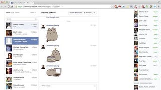 Illustration for article titled Distraction Free Facebook Messenger Cuts Clutter from the Inbox
