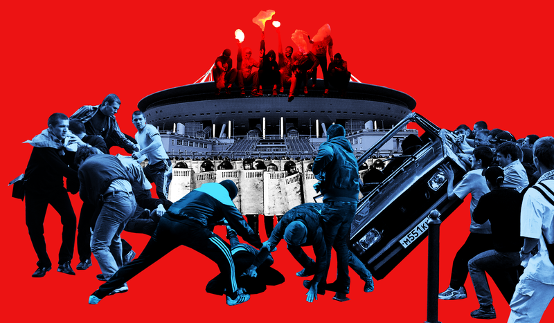 Illustration for article titled Can Russia Stop Its Far-Right Hooligans From Ruining The World Cup?