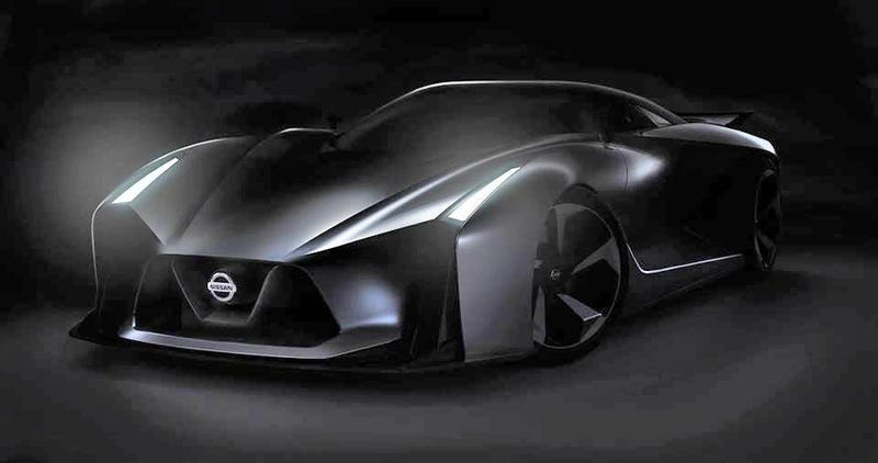 Illustration for article titled This Is Nissan's Gran Turismo Vision Concept, And Maybe The Next GT-R