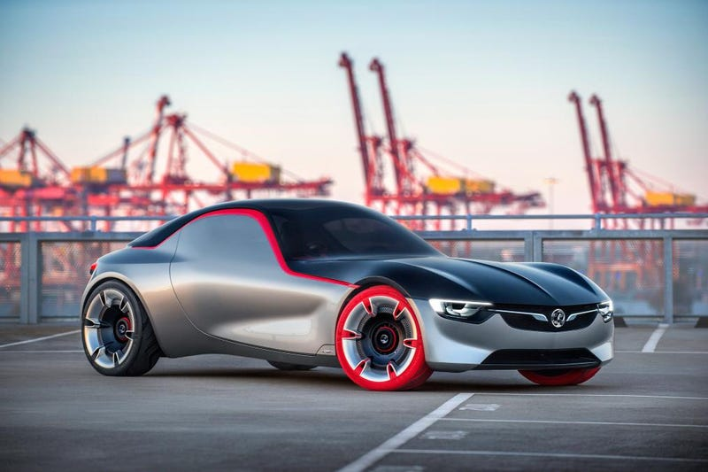 Illustration for article titled Opel's New GT Concept Is A 143 HP Highlight Of The Future (Updated)