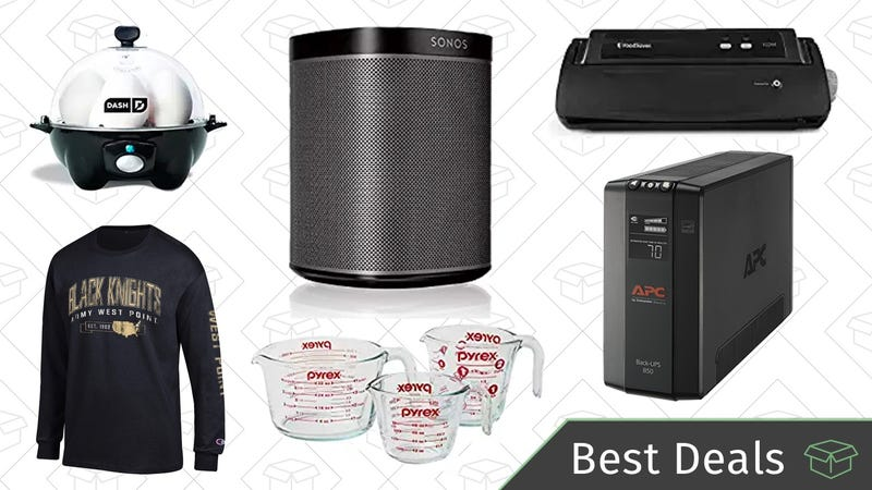 Wednesdays best deals sonos speaker ups backup battery dash a sonos speaker a ups backup battery the best selling dash egg cooker and more are all part of todays best deals fandeluxe Image collections