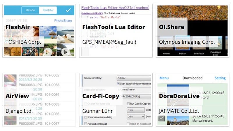 Illustration for article titled Simplify Using the FlashAir Wi-Fi SD Card with These Apps